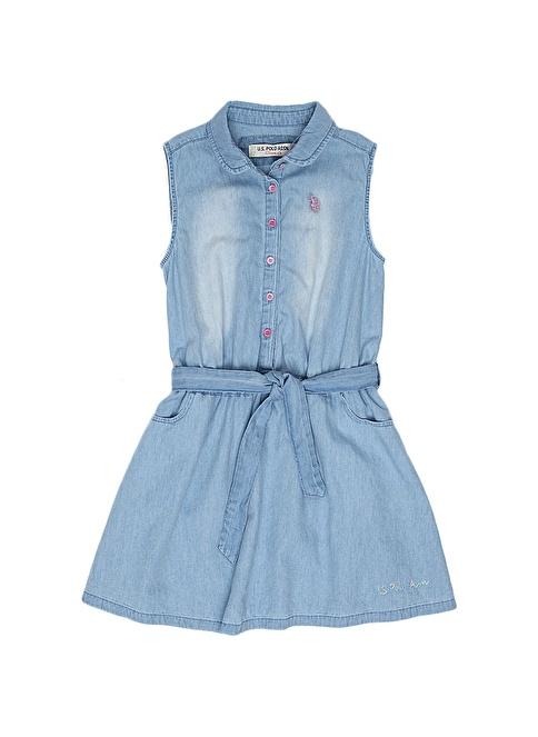 U.S.Polo Assn. Elbise Mavi